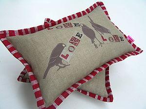 Vaudeville Love Cushion - cushions