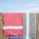Beach Fouta Hamam Towel