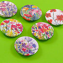 Flower Garden Magnet Set