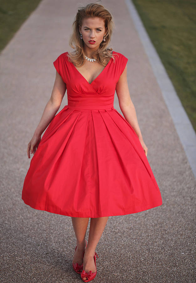 1950\'S Style Cocktail Dresses - Evening Wear
