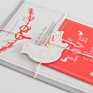 50 Love Birds Wedding Invitations - invitations