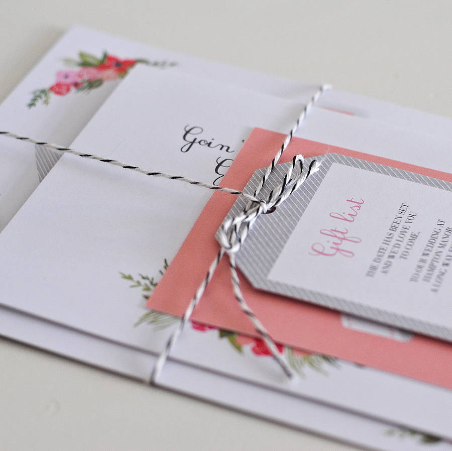 Wedding Invitations With Ribbons: Ribbon's Wedding Invitations By Paper Dates