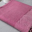 Set Of Large And Guest Plain Beach Hamam Towels
