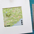 Personalised Papercut Map Art