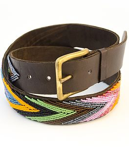 Metallic Arrow Belt - women's accessories