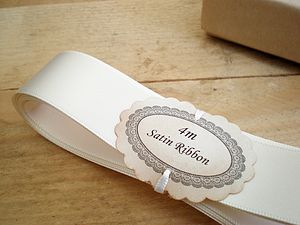 Satin Ribbon 25mm - finishing touches
