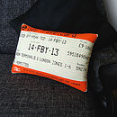 50% OFF! London Travelcard Cushion February