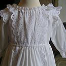 Christening Gown BBC Paradise Gown Bodice