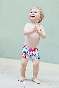 Hawaiian Swim Trunks