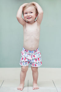 Little Houses Trunks - children's swimwear & beachwear