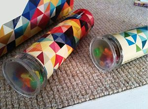 Traditional Tin Kaleidoscope Toy - toys & games