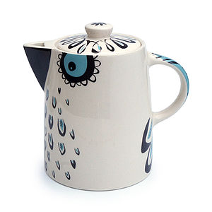 Owl Teapot - tea & coffee cosies