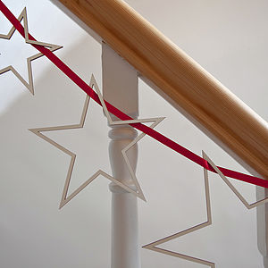 Star Streamers Christmas Garland - shop by price