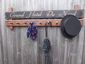 Grand Hotel Du Nord Hook Board