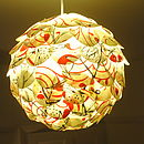Naturally Heartfelt Dragonfly Lampshade