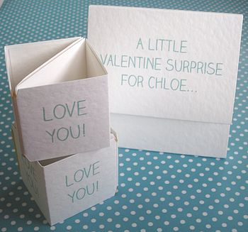 Personalised 'Surprise For You' Popping Card