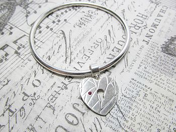 Winter Hearts Bangle