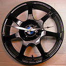 Thumb personalised real alloy wheel bmw clock