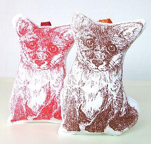 Fox Lavender Bag
