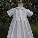christening gown 3/4 View Floral Collection