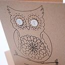 'Tweet to you' Button Box Card