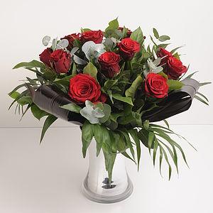 10% Off Romantic Dozen Red Roses - flowers & plants
