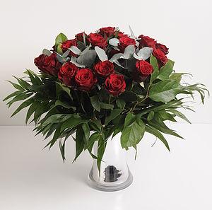 10% Off Romantic Two Dozen Roses