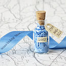 Something Blue Message In A Bottle