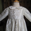 Christening Gown Owen Bodice