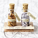 Our Story Message In A Bottle Gift Set