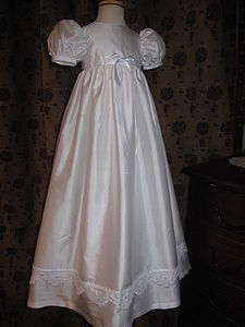 Christening Gown 'Jessie Silk Gown' - christening wear