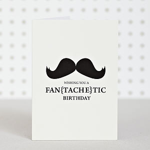 'Fantachetic' Birthday Card