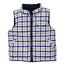 French Design Down Filled Reversible Gilet