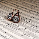 Harmony Music Note Earrings