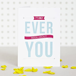 'Ever You' Anniversary Card