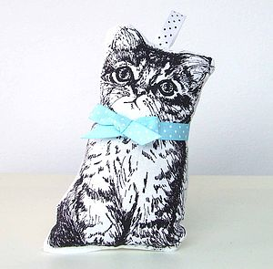 Cat Lavender Bag - decorative accessories