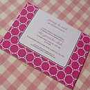 Rings Personalised Wedding Stationery