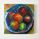 Kitchen Fruit Canvas Print