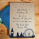 London Town Wedding Stationery Range