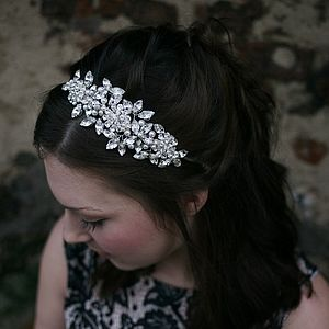 Vintage Inspired Headdress - hair accessories