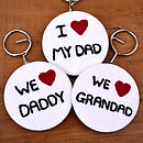 Personalised Key Ring Mens Birthday Gift