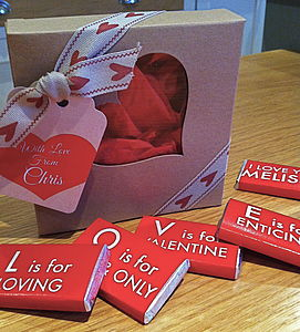 LOVE Chocolate Gift Box - chocolates