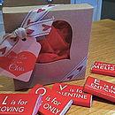 LOVE Chocolate Gift Box