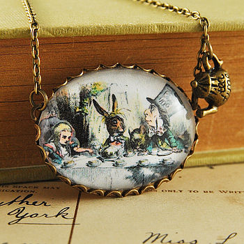 Mad Hatters Tea Party Necklace