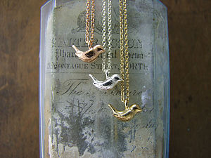 Wren Tiny Pendant - necklaces & pendants