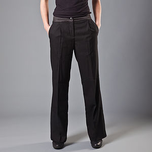 Gisana Wide Tailored Trousers - trousers & shorts
