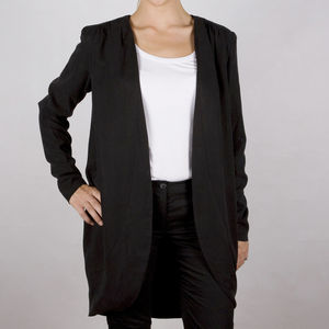 Ivona Soft Draped Blazer - women's fashion