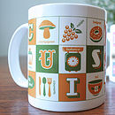 French Cuisine Typographic Mug