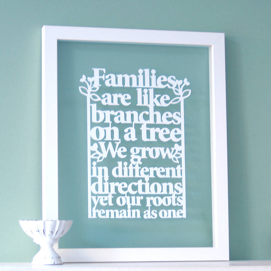 Quotes About Family For Wall Art : Family quotes art quotesgram