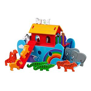 Rainbow Noah Ark - traditional toys & games